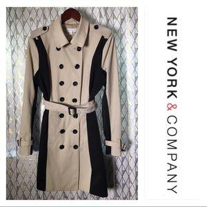 New York & Company Trench Coat